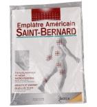 Emplâtre Américain Saint-Bernard 15 x 22 cm - 1 unité