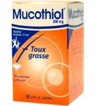 Mucothiol 200 mg - 20 comprimés