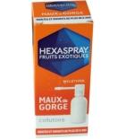 HEXASPRAY - Fruits Exotiques Collutoire Maux de Gorge - 30 g