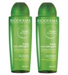 NODE - Shampooing Fluide Non Détergent - Lot de 2 x 400 ml