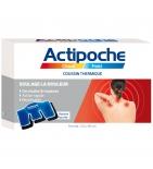 ACTIPOCHE - Coussin Thermique Cervicales et Trapèzes - 24 x 40 cm