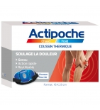 ACTIPOCHE - Coussin Thermique Genou - 16 x 25 cm