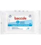 BACCIDE - Lingettes Individuelles - 35 lingettes