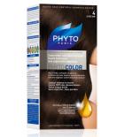 PHYTO COLOR - Coloration Permanente 4 Châtain - 125 ml