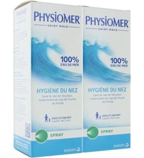 Voir en détail   PHYSIOMER Spray Nasal Hygiène du Nez - Lot de 2 x 135 ml d86c92c4993c