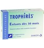 Trophirès Enfants - 8 suppositoires