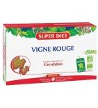 CIRCULATION - Vigne Rouge Bio 15 ml - 20 ampoules