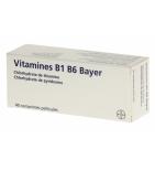 VITAMINE B1 B6 - Antiasthénique - 40 comprimés