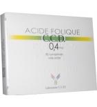 Acide folique 0,4 mg - Boîte de 30 comprimés