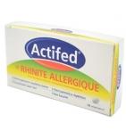 ACTIFED - LP Rhinite Allergique - 10 comprimés