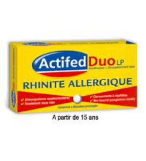Actifed lP Rhinite Allergique - 10 comprimés