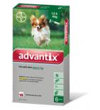 ADVANTIX - Antiparasitaire Très Petit Chien Jusqu'à 4 kg - 4 pipettes de 0,4 ml