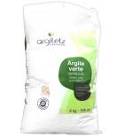 Argile verte granulés - 3 kg