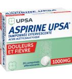 Aspirine UPSA 1000 mg - 2 x 10 comprimés effervescent