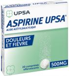 Aspirine UPSA 500 mg - 2 x 10 comprimés effervescents