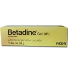 Bétadine 10 % Gel Usage local - 30 g