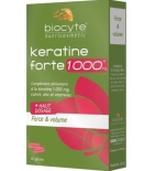 KERATINE FORTE - Santé & Volume 1000 mg - 40 gélules