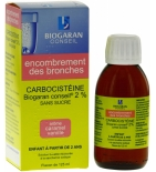 Carbocistéine 2 % Solution Buvable Toux Grasse - 125 ml