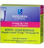 Borax Acide Borique Solution Ophtalmique 5 ml - 15 unidoses