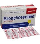 Bronchorectine au Citral Adulte - 10 suppositoires
