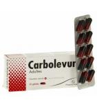 CARBOLEVURE - Ballonnement Intestinal Diarrhée Adultes - 30 gélules
