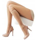 BIEN-ETRE - Permanente - Chaussette Longue Transparente Candi Taille 1