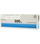 CLARADOL - Anti-Douleurs et Fièvre - 16 comprimés de 500 mg