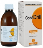 CODEDRILL - Toux d'Irritation Codéine 0,1 % Solution Buvable - 200 ml