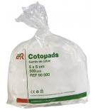 Cotons Cotopads 'Rectangles 8 cm x 10 cm' - 200 pièces