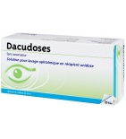Dacudoses - Solution ophtalmique - 16 unidoses de 10 ml
