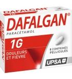Dafalgan Paracétamol 1 g - 8 comprimés