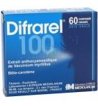Difrarel 100 mg - 60 comprimés