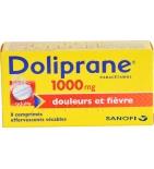 Doliprane 1000 mg Paracétamol - 8 comprimés