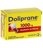 Doliprane 1000 mg Paracetamol - 8 sachets