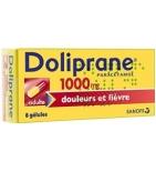 Doliprane 1000 mg Paracétamol - 8 gélules