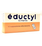 Eductyl Enfant -  12 suppositoires