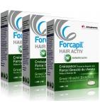FORCAPIL - Hair Activ - Programme Intensif 3 mois - Lot de 3 x 30 Comprimés
