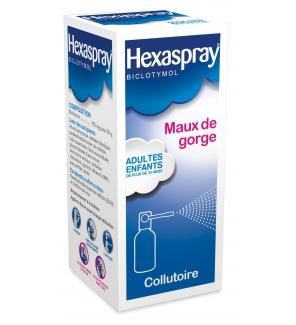 Hexaspray - Maux de gorge - Grossesse - Médicament sans