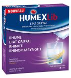 HUMEX - Lib Etat Grippal - 8 sachets
