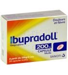 Ibupradoll 200 mg Ibuprofène - 24 Capsules Molles