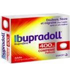 Ibupradoll 400 mg Ibuprofène - 12 Comprimés Pelliculés