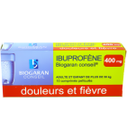 Ibuprofène 400 mg - 10 comprimés