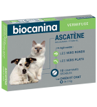 Ascatène Vermifuge chiens et chats - 10  comprimés