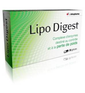 Lipo Digest Arko Enzym - 30 gélules