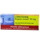 Loratadine 10 mg - 7 comprimés