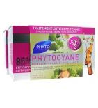 PHYTOCYANE - Traitement anti-chute Cheveux Femmes - 12  X 2 ampoules de 7.5 ml
