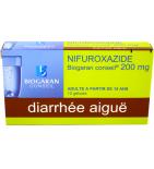 Nifuroxazide 200 mg - 12 gélules