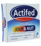 ACTIFED - Rhume Jour et Nuit - 16 comprimés