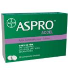 ASPRO ACCEL - Maux de Tête - 20 comprimés
