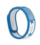 Bracelet anti-moustiques Bleu